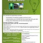 Energy Aware Workshop - Flyer